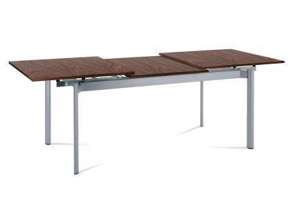 Jídelní stůl rozkládací dýha / ořech 160 - 232 x 85 cm