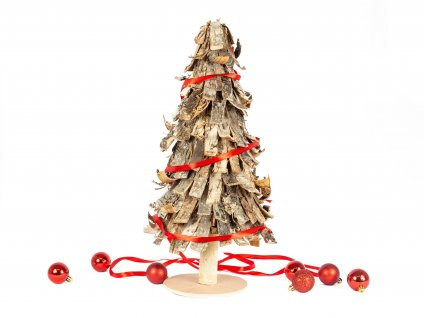 Strom dřevěný rustikální 48 cm