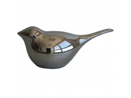 Ptáček stříbrný 16 cm