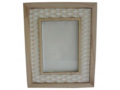 Dřevěný rámeček 20,5 x 26 cm