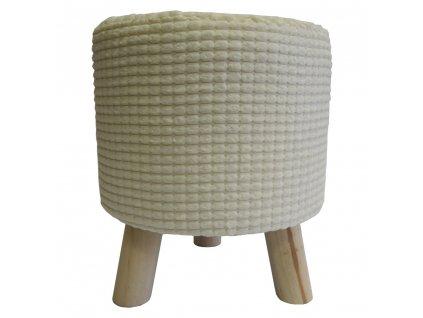 Stolička krémová 35 cm