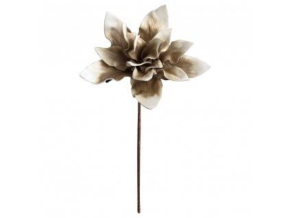 Květina hnědá 65 cm