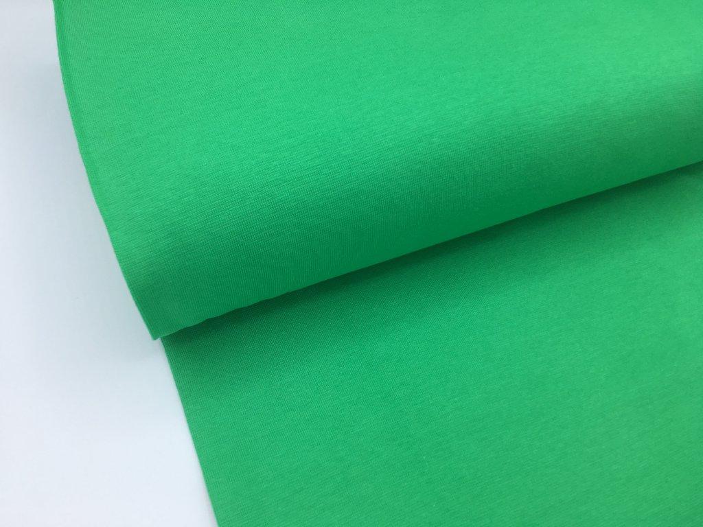 Náplet - hladký - trávově zelená
