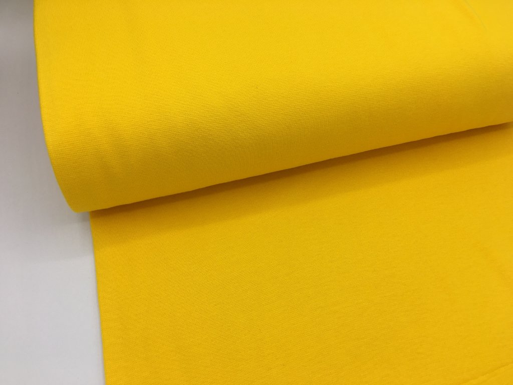 Náplet - hladký - jasně žlutý