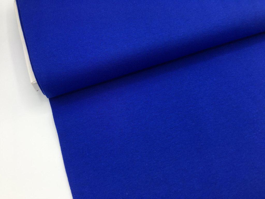 Náplet - hladký - královsky modrá