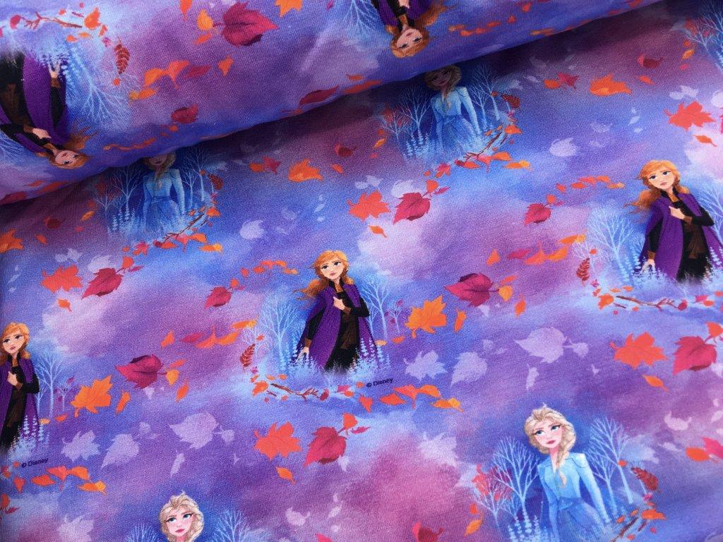 Úplet - Ledové království - fialová