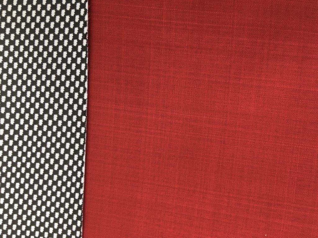 Jarní softshell - jednobarevný - červená