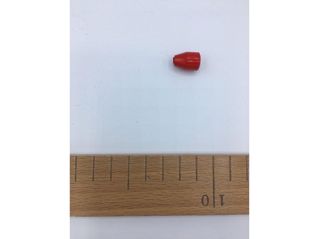 Koncovka - O 8mm - červená