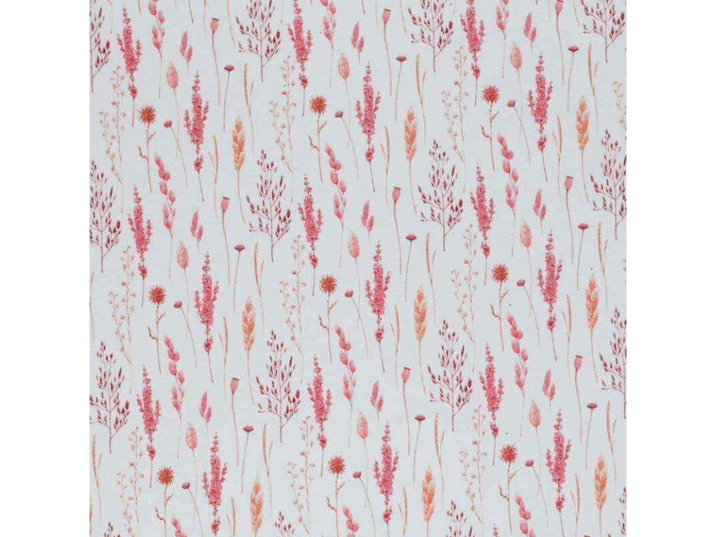 Jersey Fabric dried flowers 1 800x800