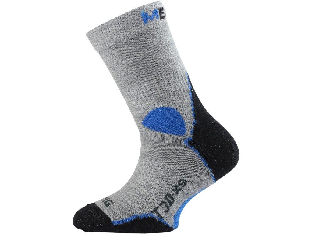 Dětské ponožky - trekingové - šedá