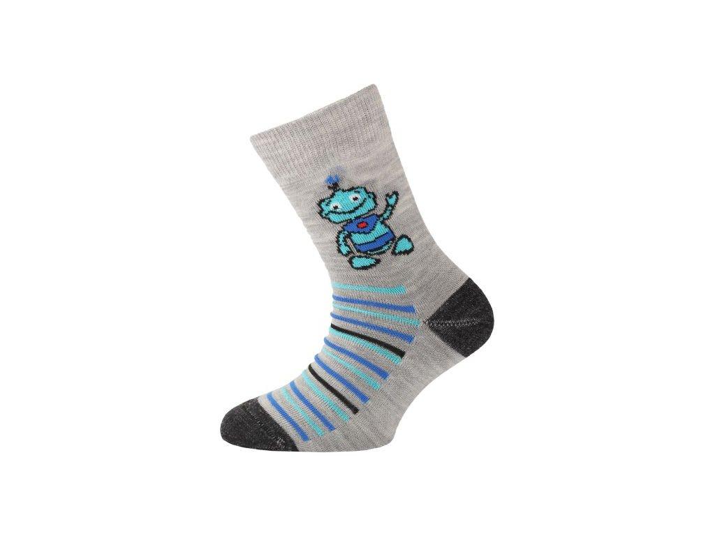 lasting detske merino ponozky tjb sede (1)