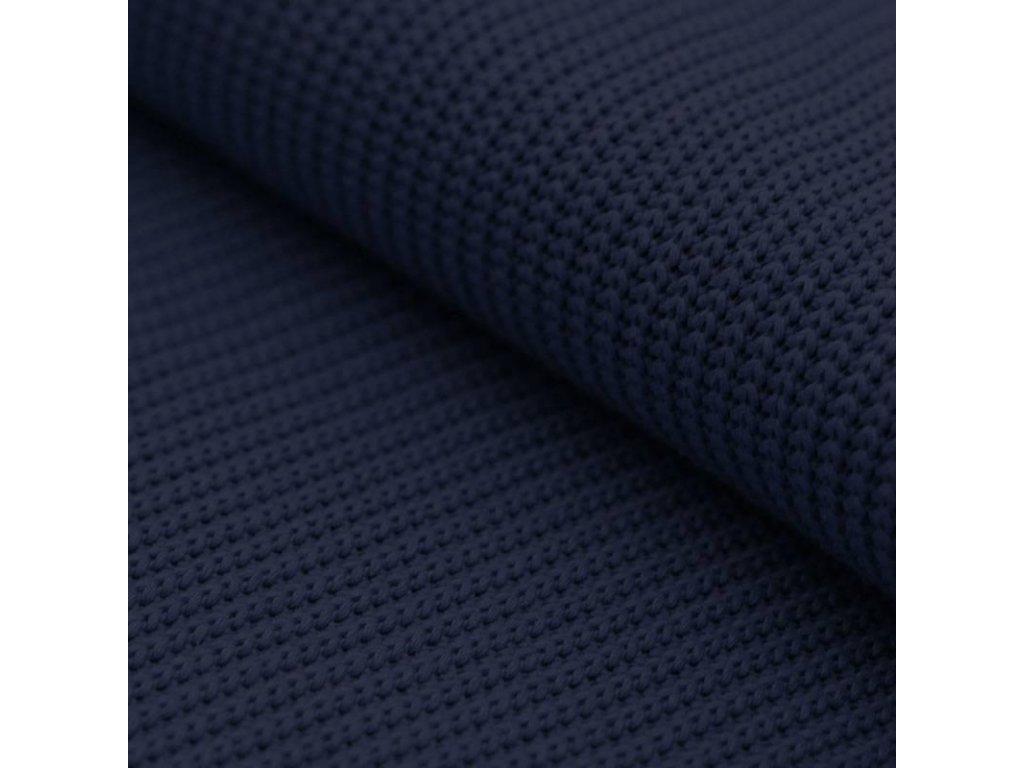 big knit fabric navy 800x800