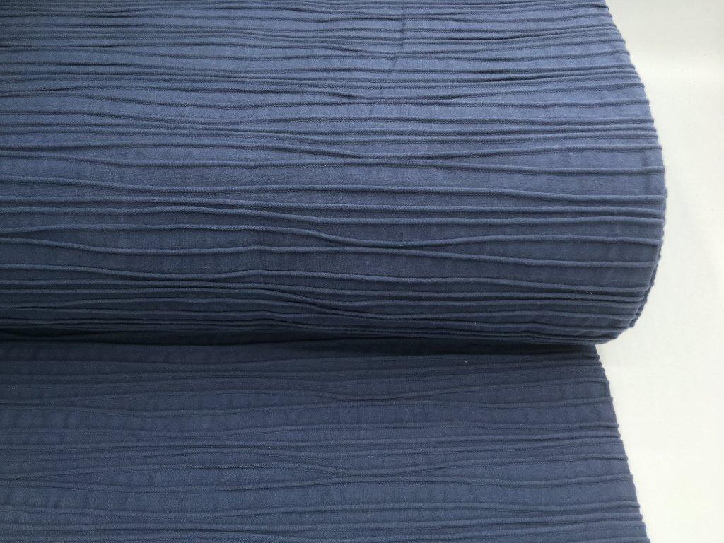 Úplet - prošívaný - navy modrá