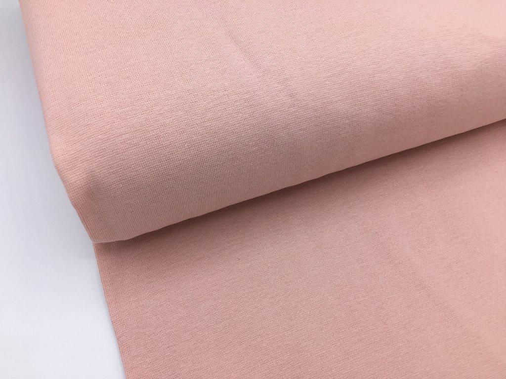 Náplet - hladký - pastelově světle růžová (tmavší odstín)