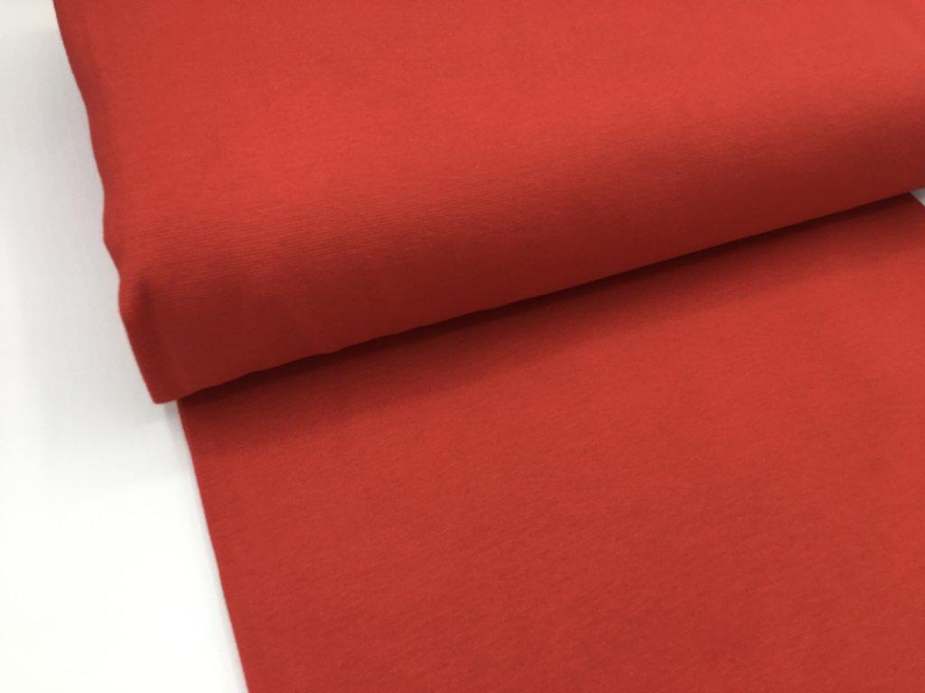 Náplet - hladký - červený - 2.jakost