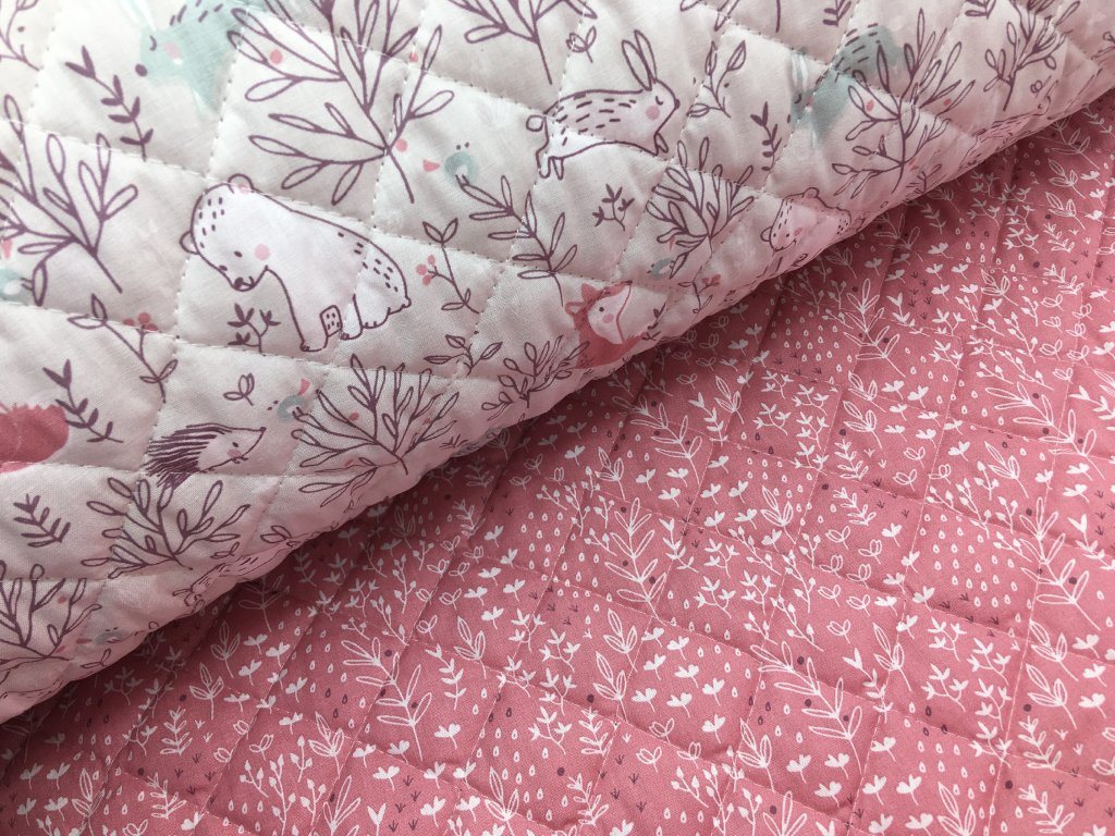 Prošev - mláďátka (růžová) - bavlněný - 95cm (2.jakost)