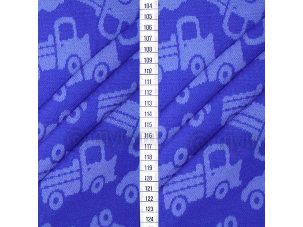 Facebook bambus auta modrá