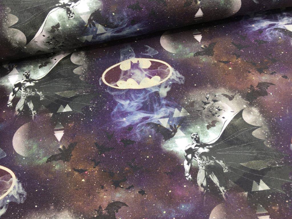 Úplet - Batman - noční obloha - 45cm (2.jakost)
