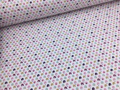 Bavlna - kolekce víly - kopečky