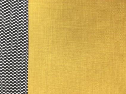 Jarní softshell - jednobarevný - žlutá