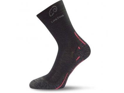 lasting merino ponozky whi cerne