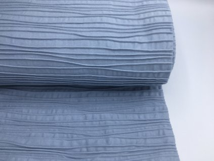 Úplet - prošívaný - šedo/modrá