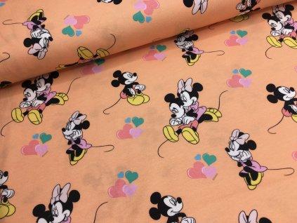 Úplet - Mickey Mouse - oranžová