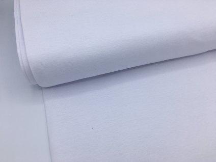 Náplet - hladký - bílý - doprodej 30cm