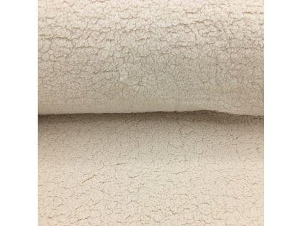 Beránek - 100% polyester - ecru přírodní (250 g/m2) - 42cm (2.jakost)