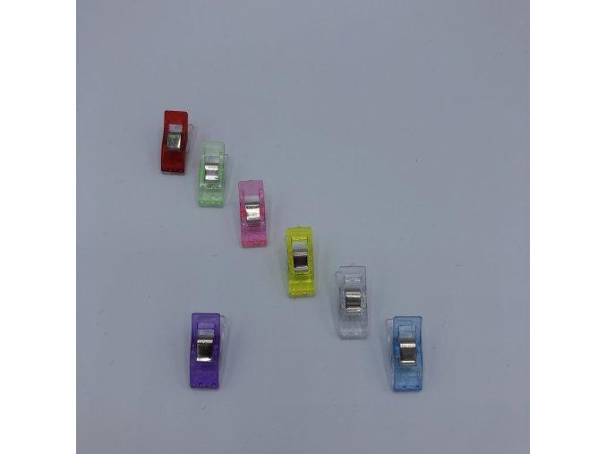 Svorky/klipy - fialové