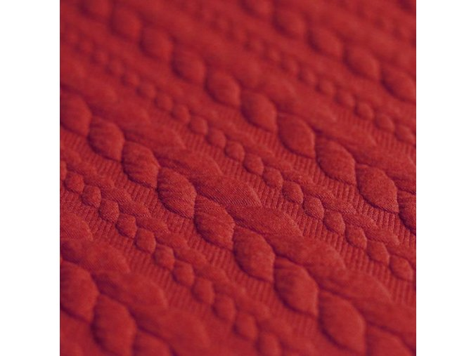 Jacquard Fabric Dark Red 800x800