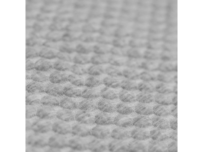 Dots Jacquard light grey melange 800x800
