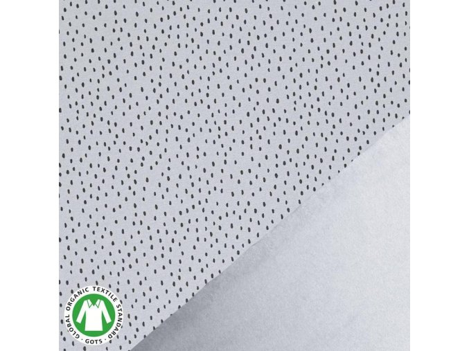 Gots French Terry dots grey 800x800