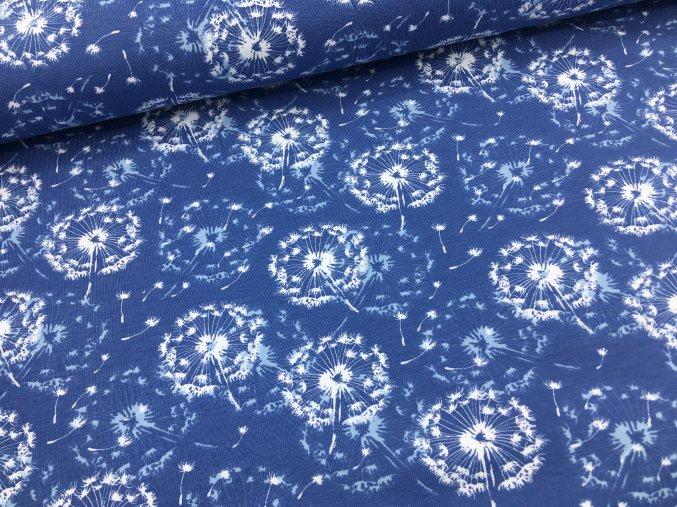 Úplet - pampelišky chmýří - modrá