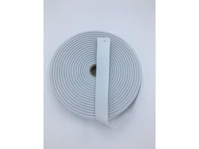 Pruženka plochá 30mm - bílá