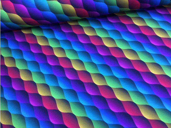 Úplet - barevné provazy