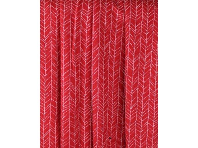Merino - jehličí na červené