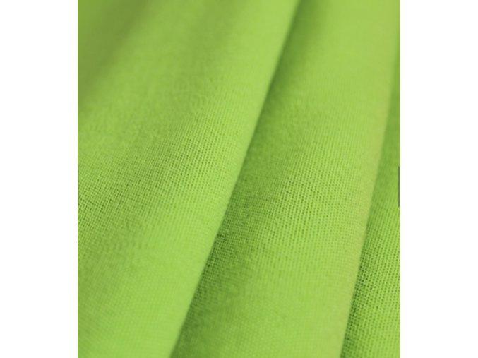 Merino - interlok - zelená