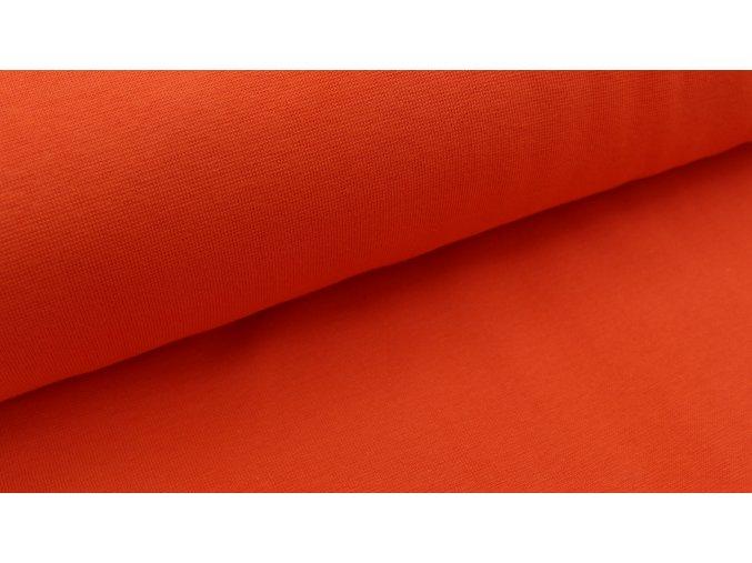 Náplet - hladký - oranžový