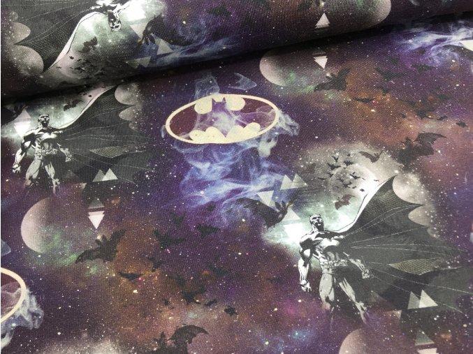 Úplet - Batman - noční obloha
