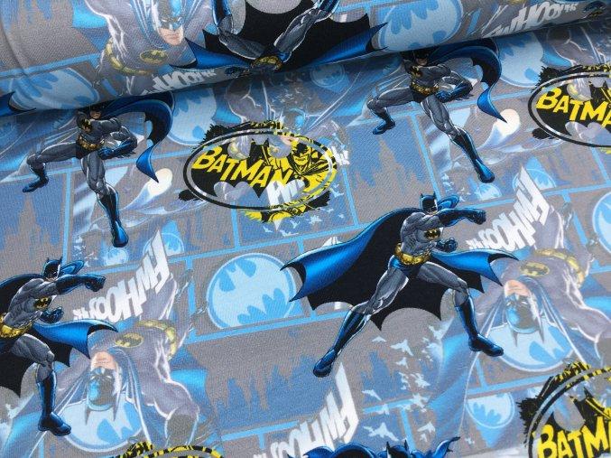Úplet - Batman - modro/šedý