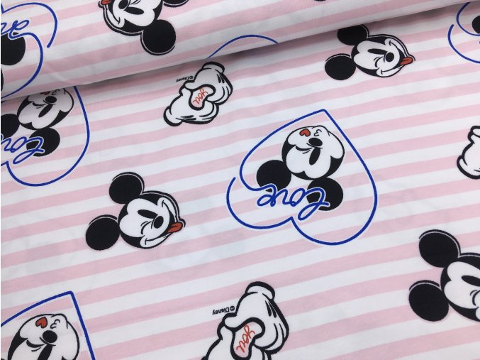Úplet - Mickey Mouse - proužky