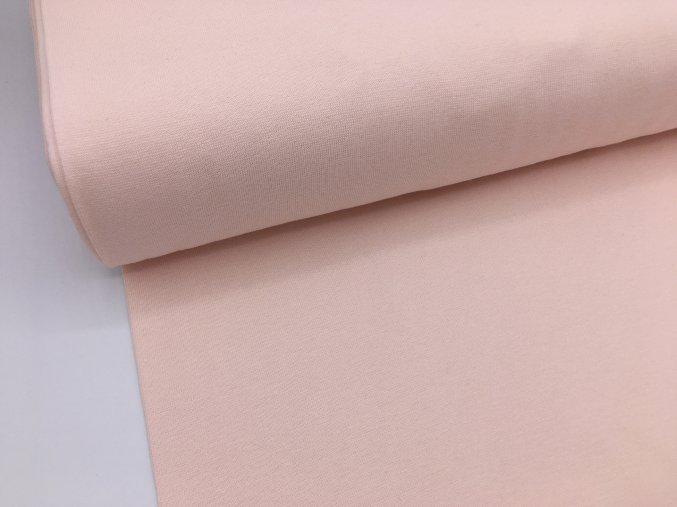 Náplet - hladký - pastelově světle růžová