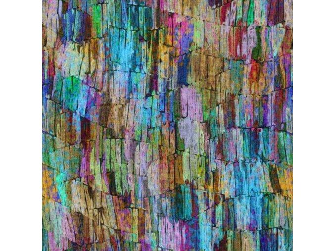 Viskose Jersey colored tiles 800x800