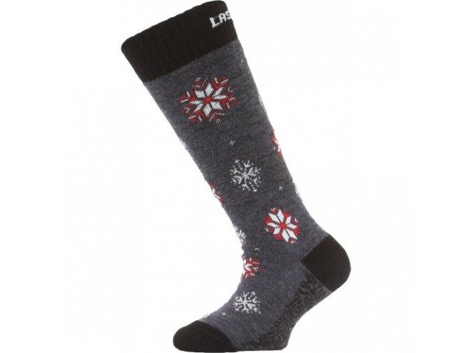 Dětské ponožky - lyžařské - SJA modré