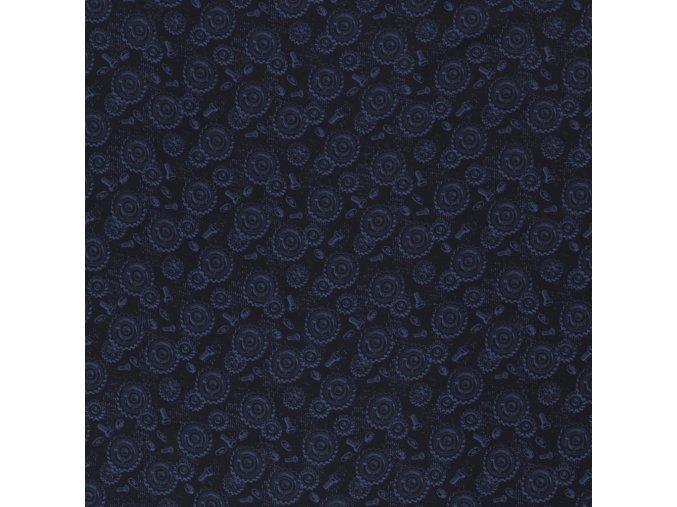 Bavlna - šrouby - černá