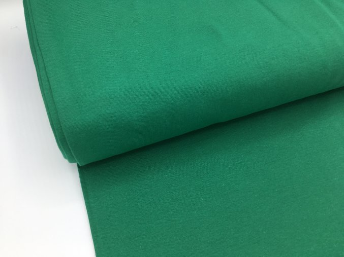 Náplet - hladký - lahvově zelená