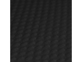 Tissu jacquard pois noir 800x800