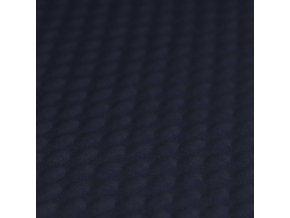 minky jacquard fabric Navy 800x800