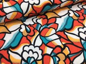 Úplet - abstrakce květy